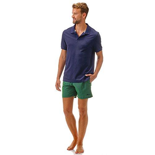 Vilebrequin Shirt Herren - Polohemd Aus Baumwollpikee Marineblau