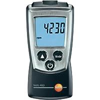 Testo 460, Rpm Instrumento De Medición, Incluyendo Tapa Protectora, Protocolo De Calibración Y Baterías