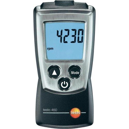 Testo 0560 0460 460 Drehzahl-Messgerät, inklusive Schutzkappe, Kalibrier-Protokoll und Batterien