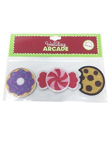 Cookie Candy Donut Abziehen & Aufkleben Stoff Craft Patches ()