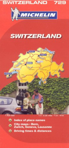 Michelin Map Switzerland/Suisse