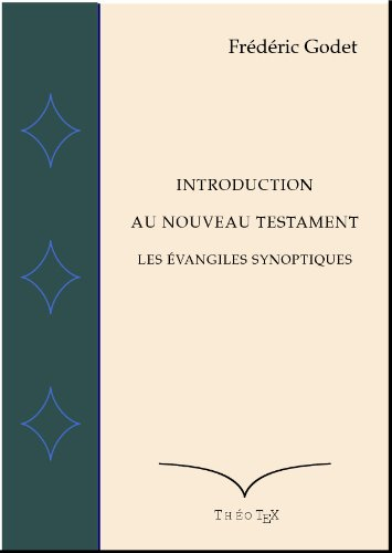 Les Evangiles Synoptiques (Introduction au Nouveau Testament t. 1)