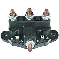 Peepheaven Interruptor DE SOLENOIDE Reverso del Motor DE Winch Relay 12 Volt F180 DPDT 6 Terminales