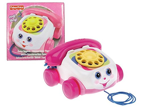 Fisher-Price Fp Telephone Rose Pink 5053959720760