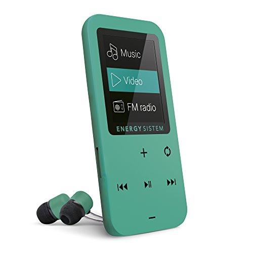 Energy Touch - Reproductor MP4 (8 GB, botones táctiles, radio FM, microSD), menta