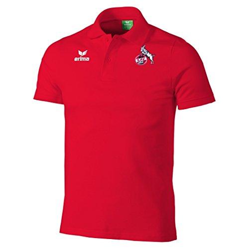 erima FC Köln Poloshirt Rot