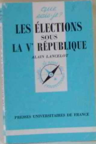 Les élections sous la Cinquième République