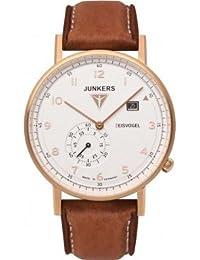 Junkers Herren-Armbanduhr Analog Quarz Leder 67324