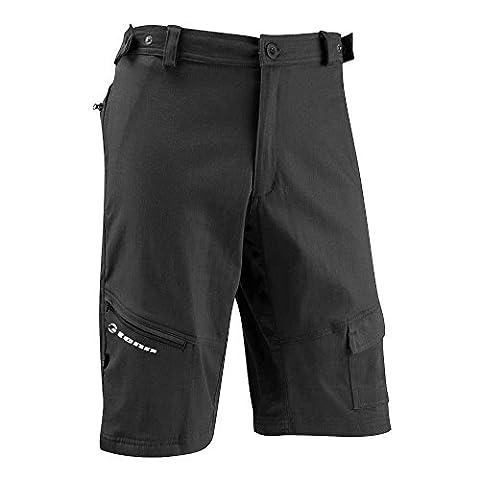 Tenn Mens Off Road/Downhill Combat Cycling Shorts - Black - Med