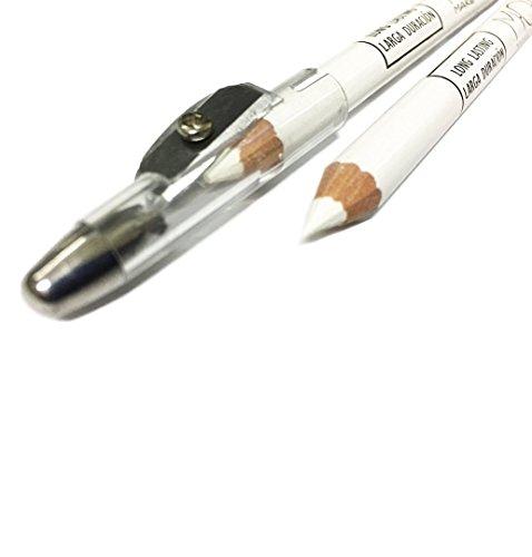 Lapicero blanco uso perfilador ojos marcaje piel esp