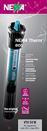NEWA kombiniert Eco Thermometer für Aquarien 50W (150 Aquarium-wasser-heizung Watt)