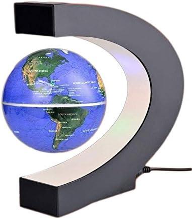 Gulin Globe flottant 6'' avec les lumières de LED Globe terrestre flottant de lévitation magnétique, UK Plug Blue | 2019