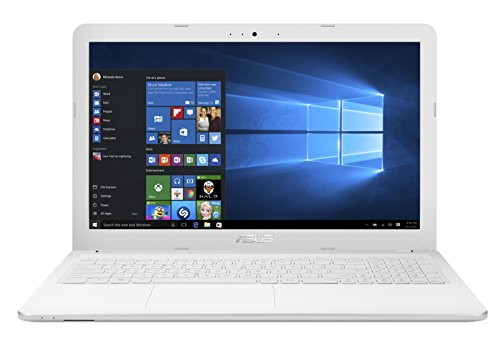 ASUS VivoBook X540SA-XX195T 15.6 inch HD Notebook (Intel Celeron N3050 Processor, 4 GB RAM, 1 TB HDD, HD 1366 x 768 Screen, Windows 10) - White