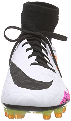 Nike Hypervenom Phatal II Dynamic Fit (FG), Chaussures de Football Compétition Homme Weiß (WHITE/BLACK-TOTAL ORANGE-VOLT_108)
