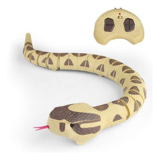 Infrarot Fernbedienung Tier Streich Spielzeug Art-Simulation Schlange Elektro RC Ferngesteuerte Trick Schreck Spielzeug FüR Witz Scary Bug (Halloween-streiche Besten Die)