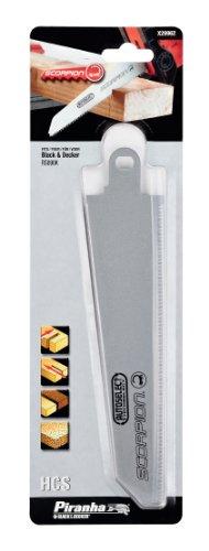 BLACK+DECKER X29962-XJ Lama per Tagli su Legno e Plastica