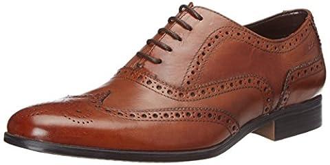 Clarks Banfield Limit, Herren Oxford Schnürhalbschuhe, Braun (Tan Leather), 44.5 EU (10 Herren UK)