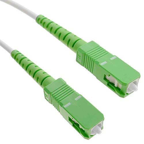 BeMatik - Cable Fibra óptica SC/APC SC/APC monomodo