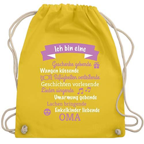 Geburtstag - Ich bin eine Oma! - Unisize - Gelb - WM110 - Turnbeutel & Gym Bag