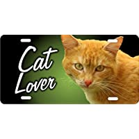Cat Lover personalizzato novelty Vanity frontale (Frontale Vanity)