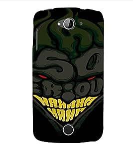 PrintVisa Cartoon Joker Design 3D Hard Polycarbonate Designer Back Case Cover for Acer Liquid Jade Z530