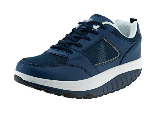 Bricok Scarpe Dimagranti ESTIVE (Blue Navy, 42)