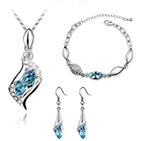 Swarovski Crystal Element jewerlry set-02