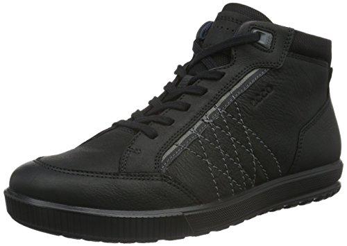 Ecco ECCO ENNIO, Sneakers Uomo, Nero (BLACK02001), 46 EU