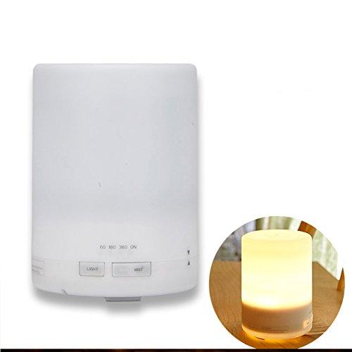 Nclon Purificateur Diffuseur Arôme usb Ultrasonique,Aromathérapie Huile essentielle Ménage Chambre Bureau Arrêt automatique Cool Brume-blanc 70*125mm