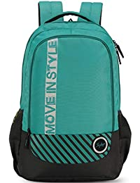 Skybags 27 Ltrs Sea Green Casual Backpack (Luke 02)