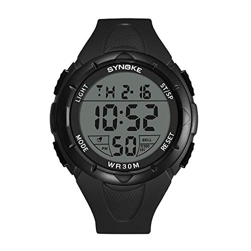 JIUZHOU Multi-Funktions- wasserdichte Uhr LED Digital Double Action Sportuhr