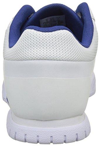 Lacoste Indiana Evo 317 1, Baskets Basses Homme Blanc (Wht/Dk Blu)