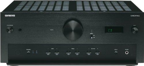 Onkyo A-9070 Stereo-Verstärker (2X 140 Watt, AWRAT, DIDRC, 3 Digitaleingang) schwarz