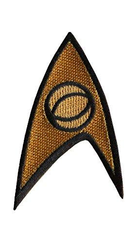 Star Trek * Starfleet SCIENCE Insignia Costume Cosplay Final Frontier Patch aufnäher zum (Star Trek Film Kostüme)