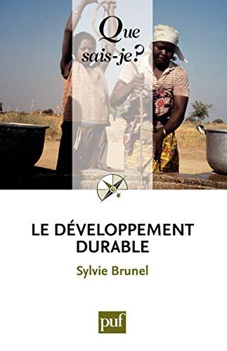 Le développement durable: « Que sais-je ? » n°...