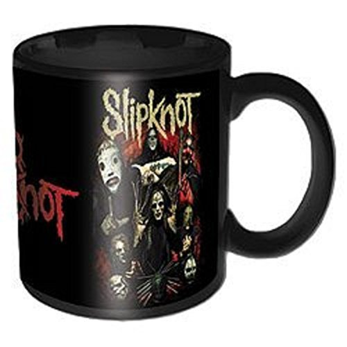 "Slipknot - Tazza ""Come Play Dying"", colore: nero"