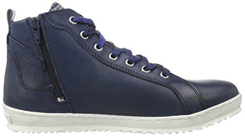 Tamaris 25215, Sneakers Hautes Femme Bleu (Ocean 803)