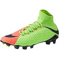 sports shoes 01abc 0db80 Nike Hypervenom Phatal III FG, Chaussures de Football Homme, Vert Noir