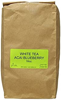 Hale Tea White Tea, Acai Blueberry, 16-Ounce