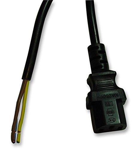 lead-iec-socketc13-bare-end-blk-5m-10a