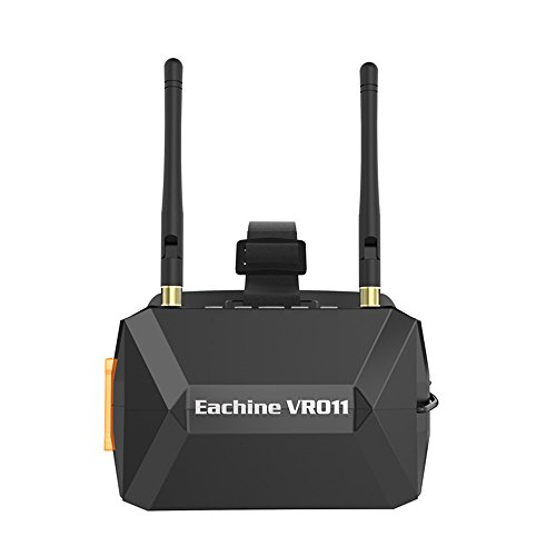 Eachine VR011 FPV Lunettes 5 Pouces 800×480 Diversity FPV Vidéo Casque Lunettes 5.8G 40CH Raceband Construire Dans La Batterie sans DVR pour FPV Racing Drone