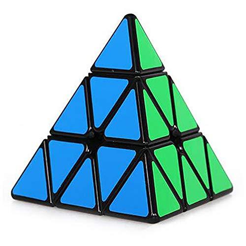MOMEY - Pyramide Speed Cube - 3 x 3 - Triangle Magic Cube - Noir
