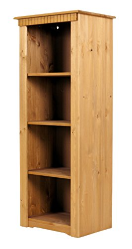 Bücherregal aus Kiefernholz, gelaugt/geölt