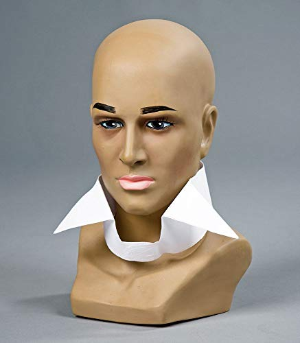 shoperama Karl Kostüm Zubehör Set oder Einzelteile Perücke Krawatte Brille Stehkragen Handschuhe Schleife Fächer Color Haarspray, - Haarspray Perücken Kostüm
