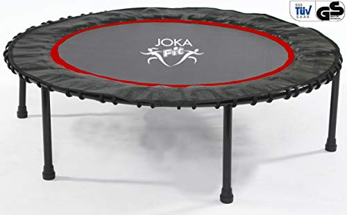 JOKA FIT, Basic-Trampolin mit Gummiseil-Federung, TÜV/GS, bis 120 KG belastbar! .be fit with
