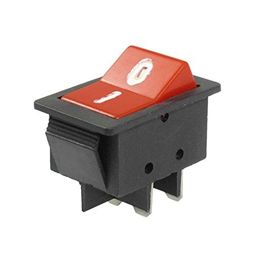 DealMux AC 250V / 10A 125V / 15A 4 Pins DPDT On / Off zwei Positionen Rocker Switch - Zwei Rocker Switches