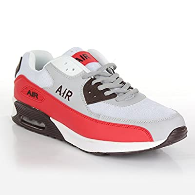 Mens Shock Absorbing Air Running Trainers Jogging Gym Fitness Trainer New Shoes Sizes 7-12 UK