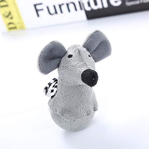 Zantec giocattolo interattivo del gatto della peluche del giocattolo della peluche del giocattolo del cane del gatto topolino