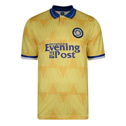 Official Retro Leeds United 1992 Away Retro Football Shirt 100  POLYESTER