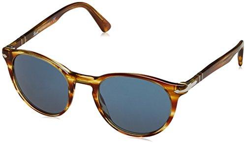 Persol Herren 0Po3152S 904356 49 Sonnenbrille, Gelb (Brown Yellow/Blue),